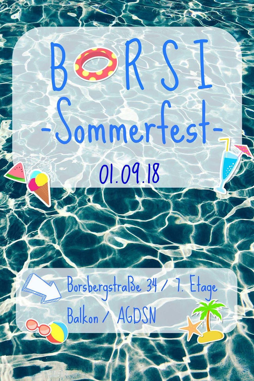 Borsi summer party
